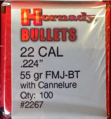 hornady 223 bullets for reloading