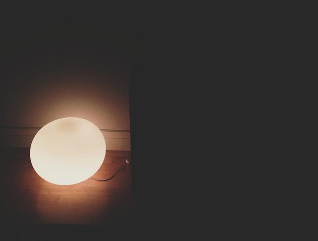 flos glo-ball lamp