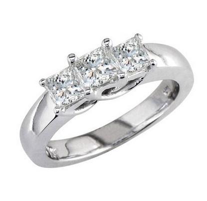 Platinum Rings for girls