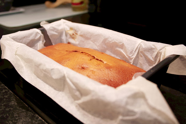 Spiced Pumpkin Loaf - a moist loaf with olive oil, ginger, nutmeg and cinnamon.  A tasty cake for fall, autumn or Halloween!