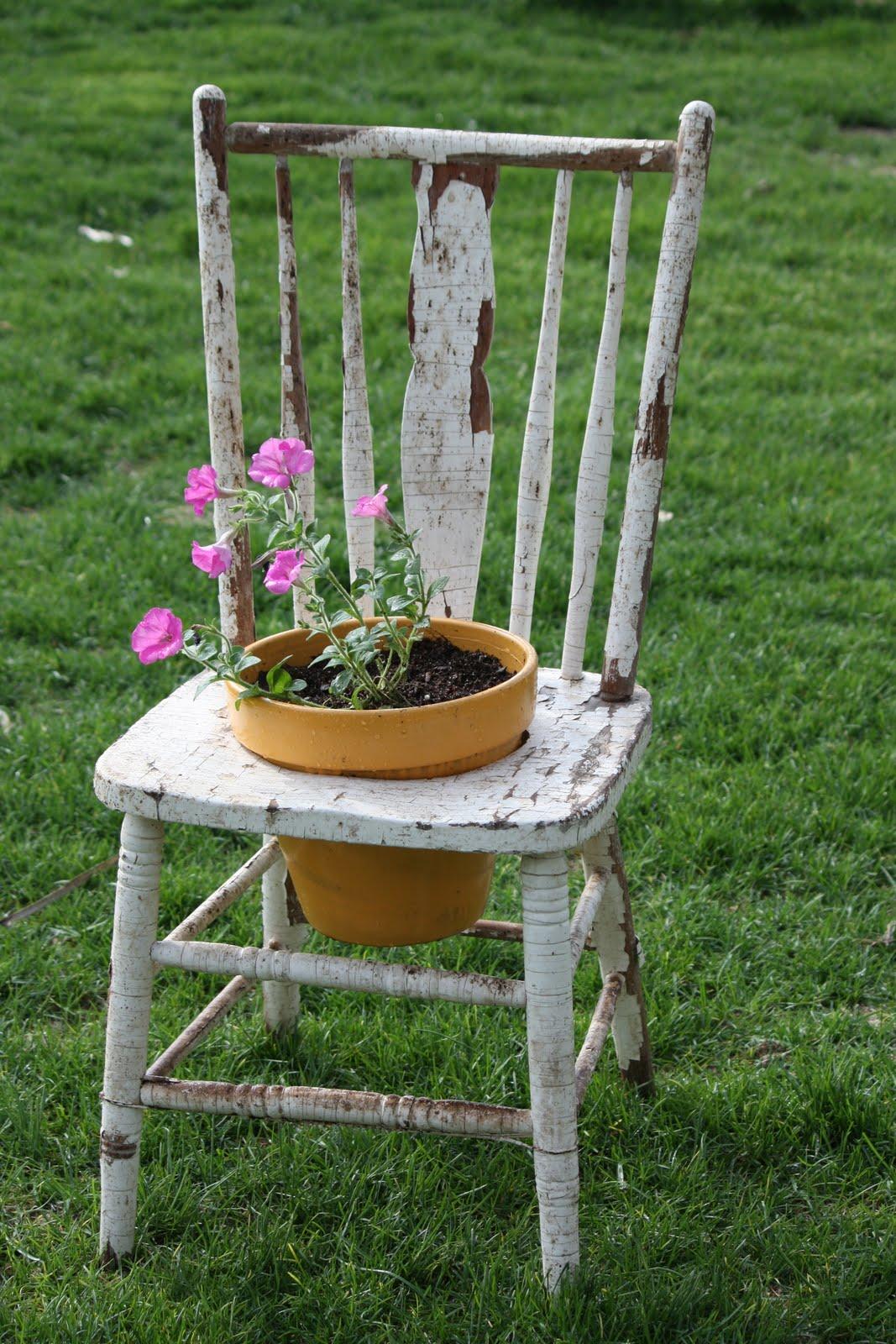 the farmer 39 s wife flower pot chair