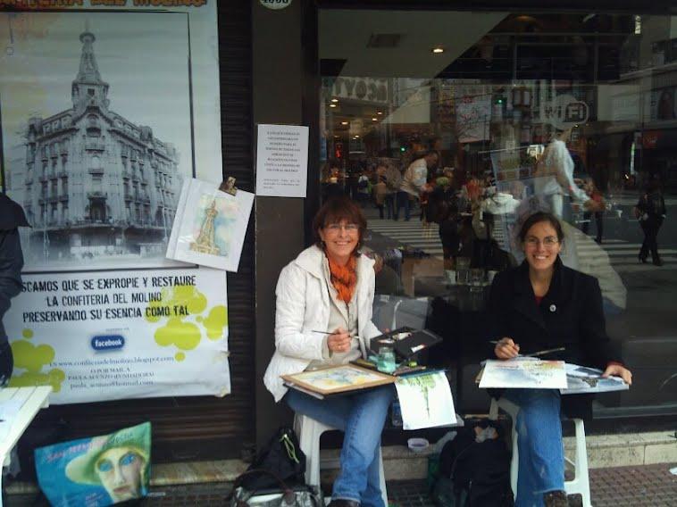EL MOLINO ARTISTICO (Gracias a las artistas Silvia Cordoba y Maria Serales y a los 165 firmantes)