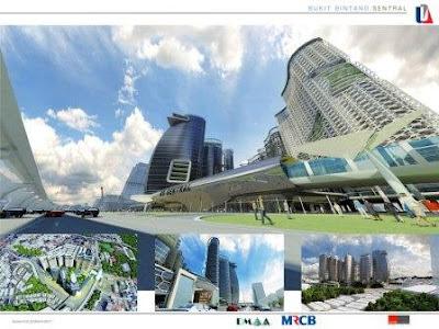 Kerja MRT BB Sentral station bermula 16 julai 2012