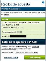 Apuestas Nantes-Montpellier Voleibol– Liga francesa Pro A William Hill
