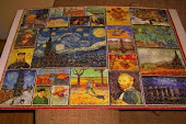 The Van Gogh Travelling Puzzle