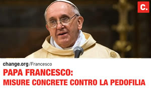 PETIZIONE A PAPA FRANCESCO