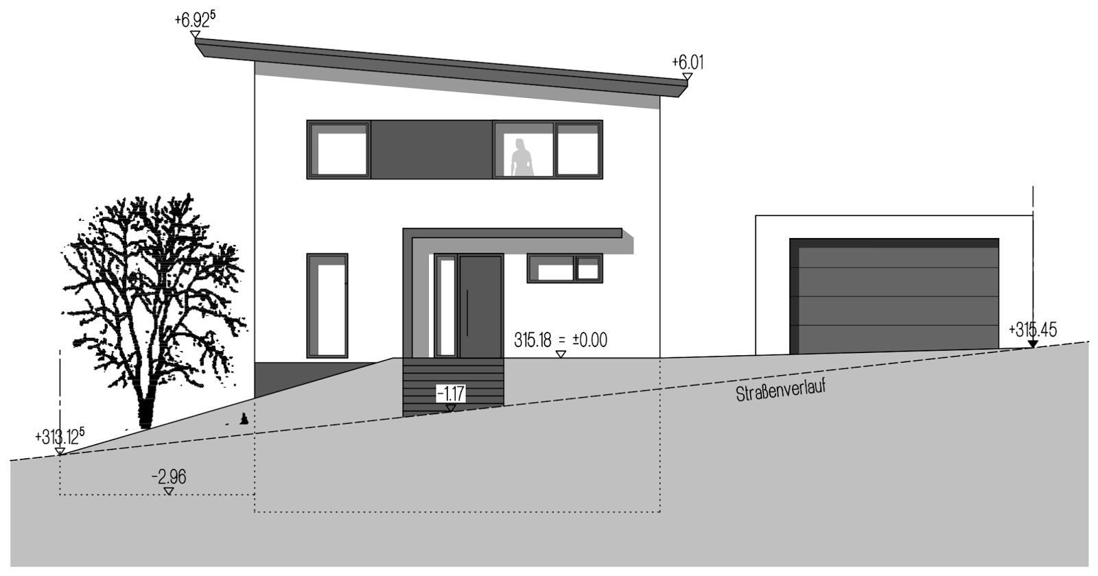 Fertiggarage beton roh  Fertiggarage ja, aber welche? Betongarage vs. Stahlgarage | Bauen ...