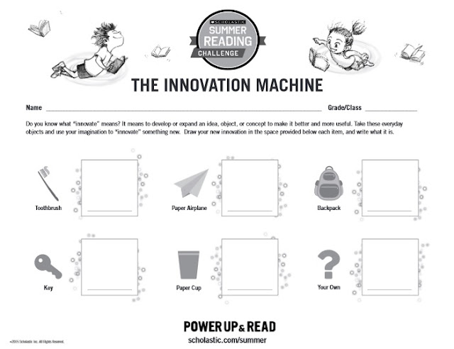 Scholastic The Innovation Game