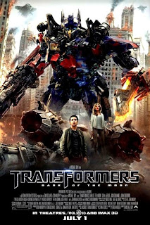 Transformers: Dark of The Moon Official Poster