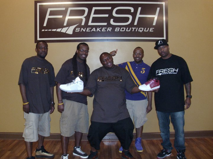 3835b0772a2063 Highlights from Grand Opening of Fresh Sneaker Boutique