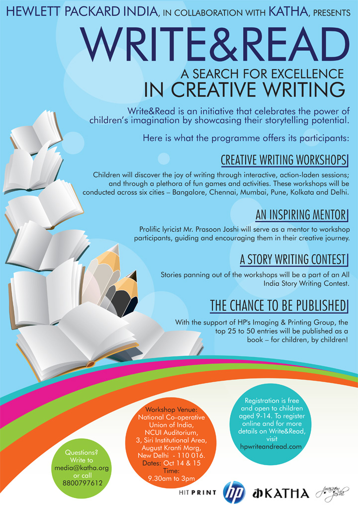 creative writing workshop Here are hundreds of writing ideas, along with free tips and worksheets for writers you can also sign up for our free online creative writing courses.