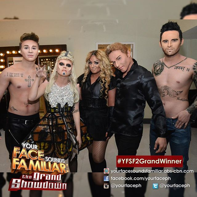 YFSF - Final 5 Celebrity Performers (IG yourfaceph)