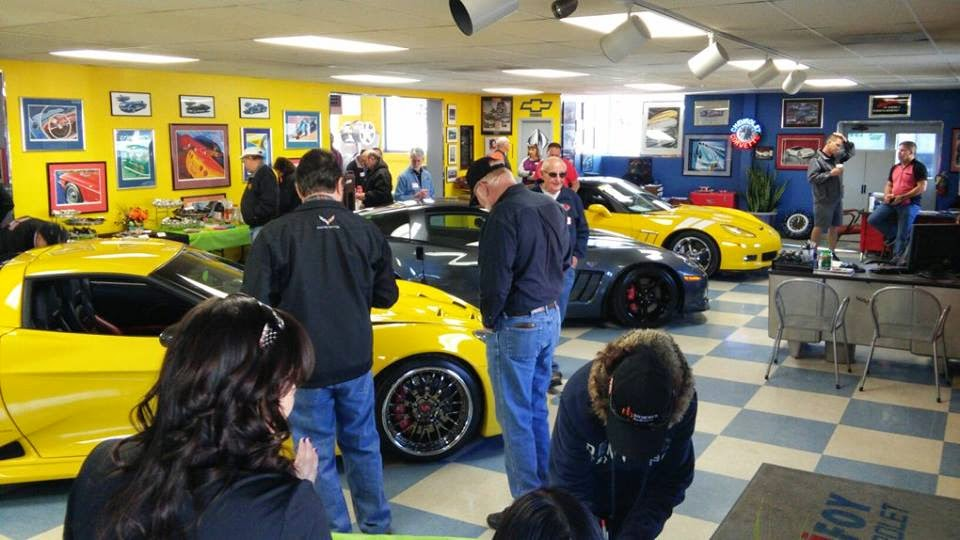 Purifoy Chevrolet Corvettes and Coffee - April 2015