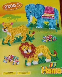 Hama beads box.
