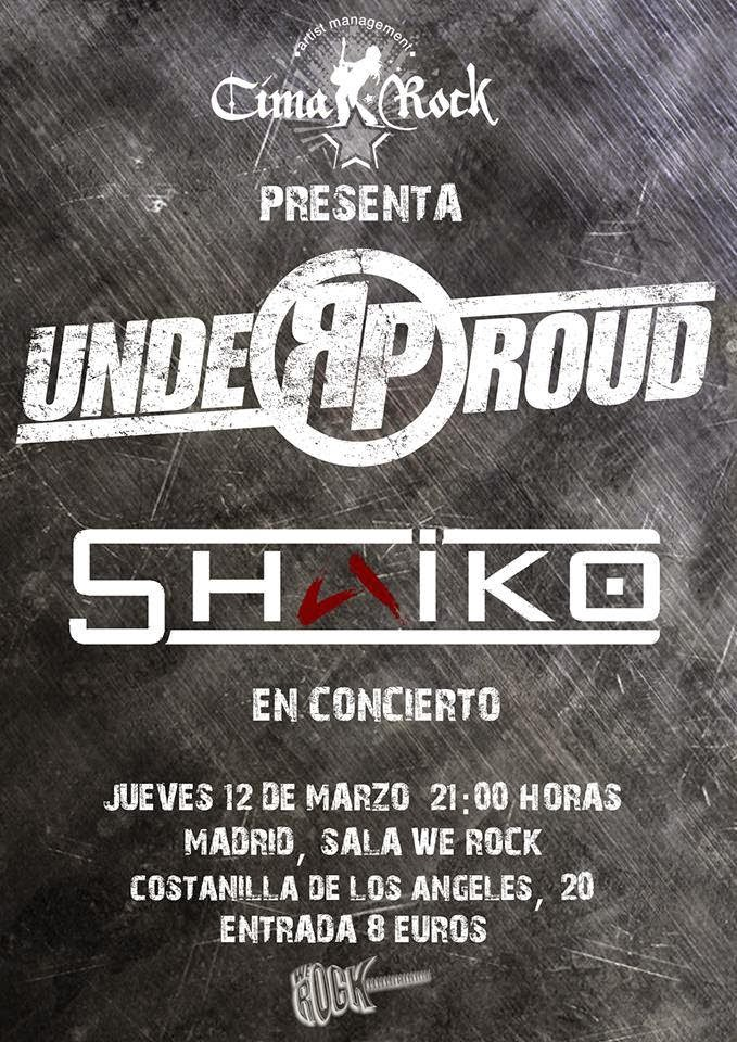 UNDER PROUD EN CONCIERTO