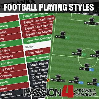 Football Manager Guide Playing Styles
