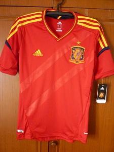 jersey spanyol grade ori home 2012