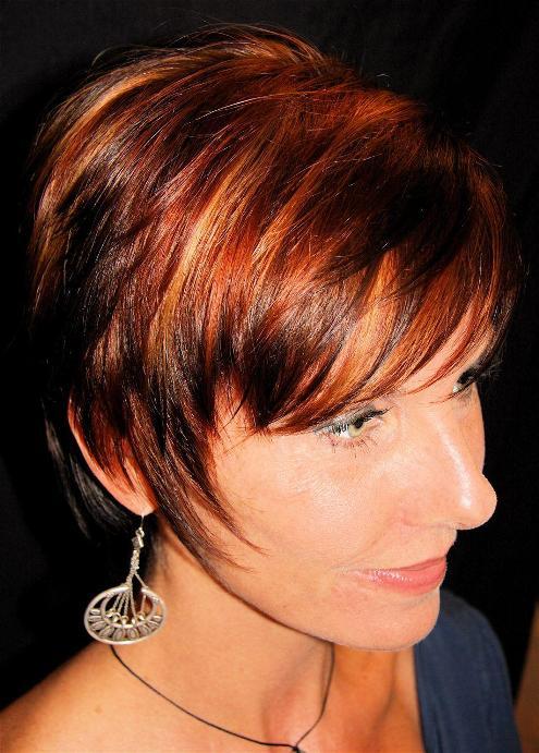 New Hair : Red Hair Highlights