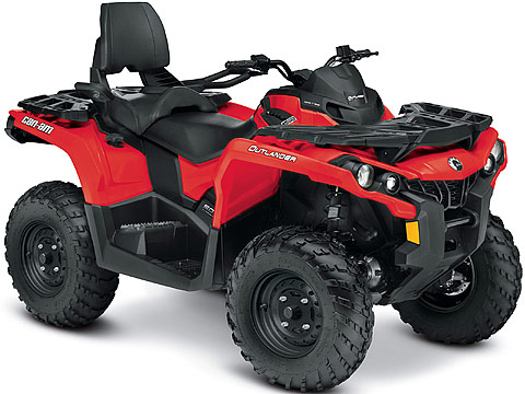 2013 Can-Am Outlander MAX 500 ATV pictures. 480x360 pixels