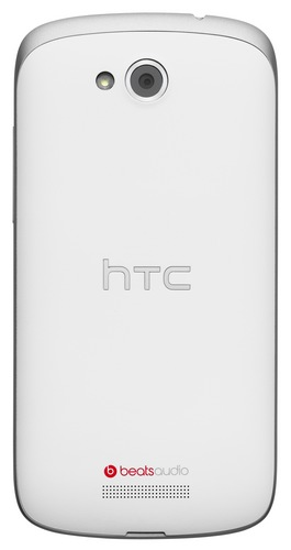 HTC One VX Mid-range Smartphone dengan LTE tampak Belakang