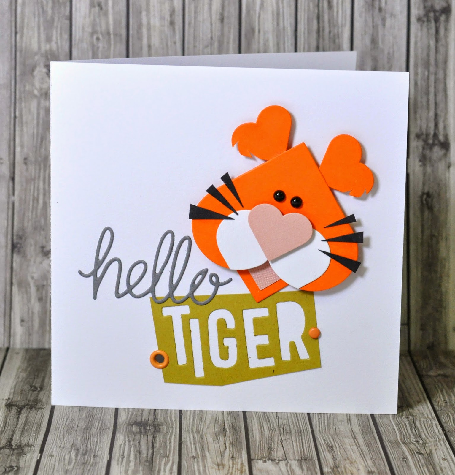 crafting ideas from sizzix uk hello tiger. Black Bedroom Furniture Sets. Home Design Ideas