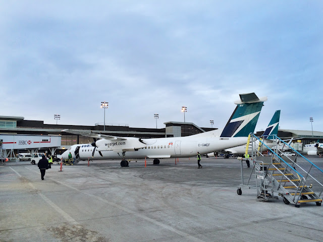 Flying Westjet