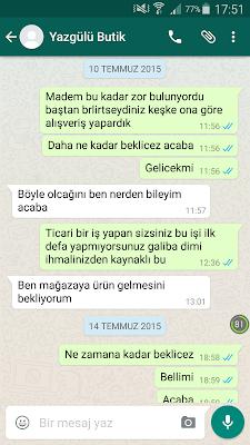 İNSTAGRAM ALIŞVERİŞ  HATALARI
