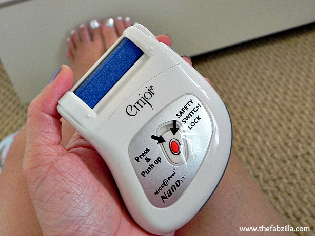 emjoi micro-pedi nano, at home pedi, sandal-ready for summer, tips