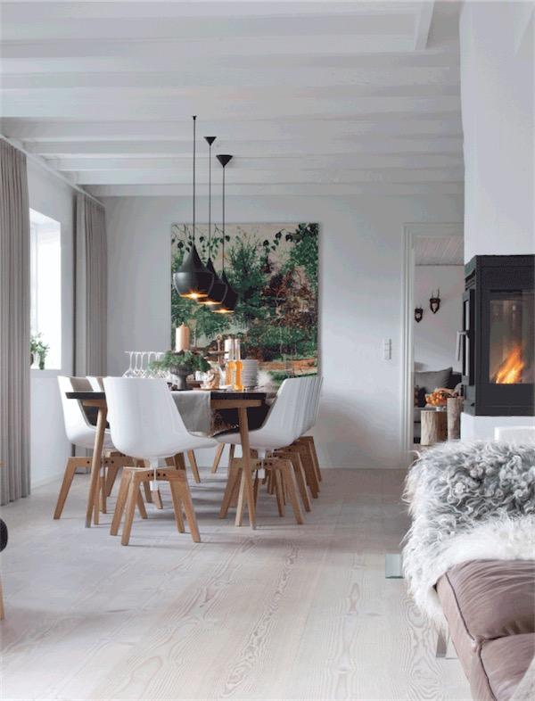 Un nuevo interior para una casa nordica new interior - Sillas antiguas baratas ...