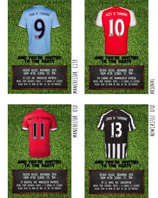 BPL Football invitation options