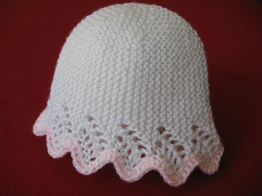 Patterns For Knitted Baby Hats : hat knitting pattern-Knitting Gallery