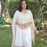 Nitya meenon Latest Photo Gallery in Salwar Kameez at New Movie Opening 46