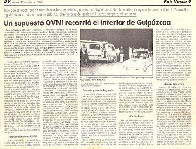 publicado por el Diario Vasco en 1985