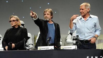 the force awakens star wars panel