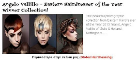 Angelo Vallillo – Eastern Hairdresser of the Year Winner Collection!