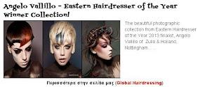 Angelo Vallillo – Eastern Hairdresser of the Year Winner Collection!