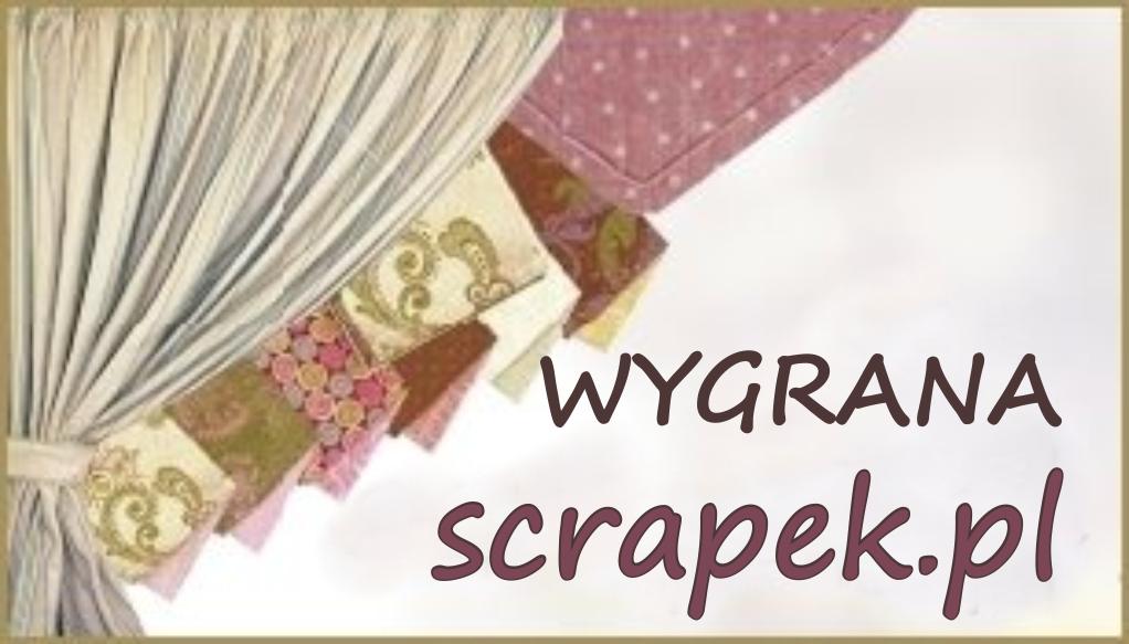 Wygrana w Scrapek.pl