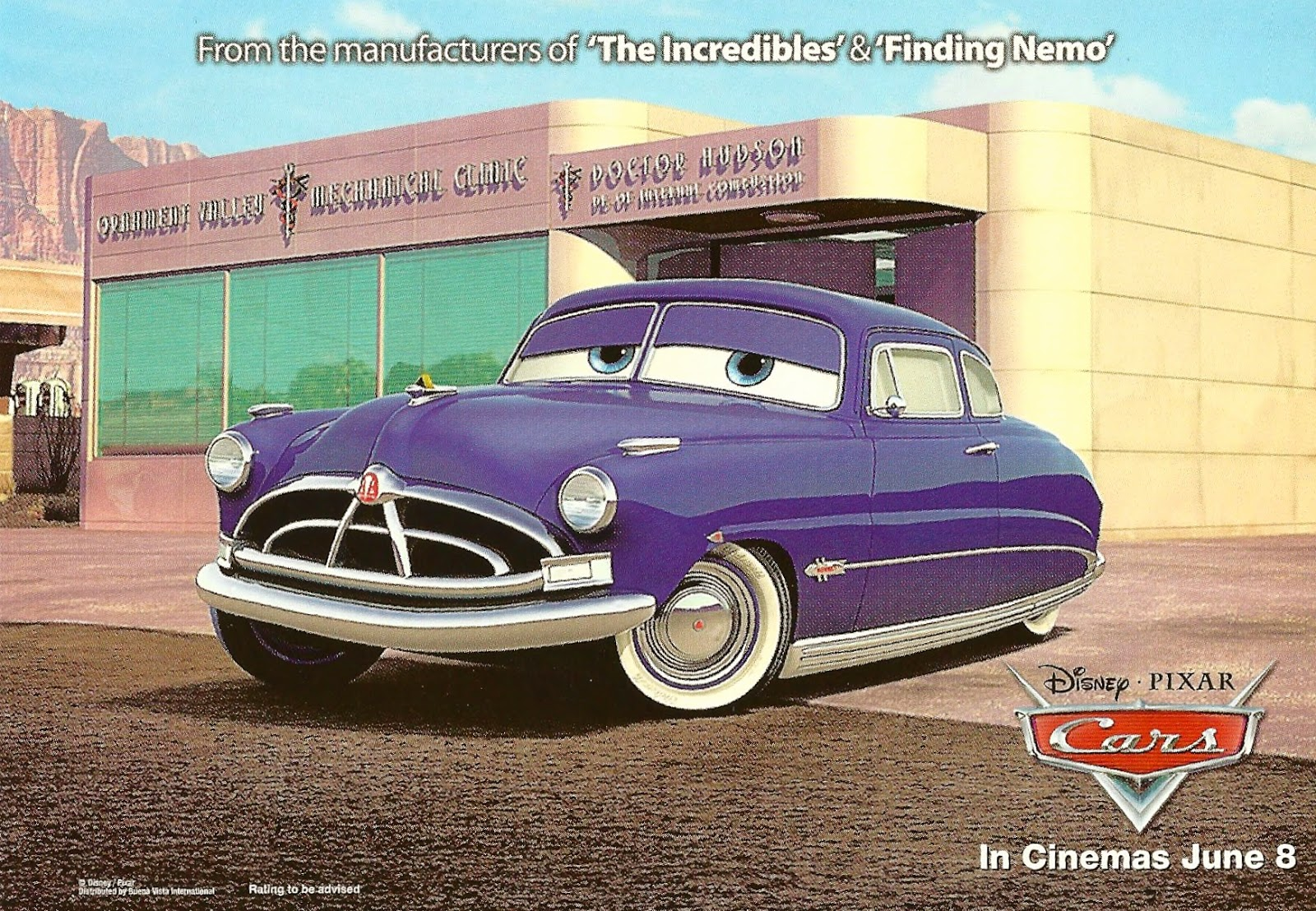 my favorite postcards cars disney movie released on. Black Bedroom Furniture Sets. Home Design Ideas