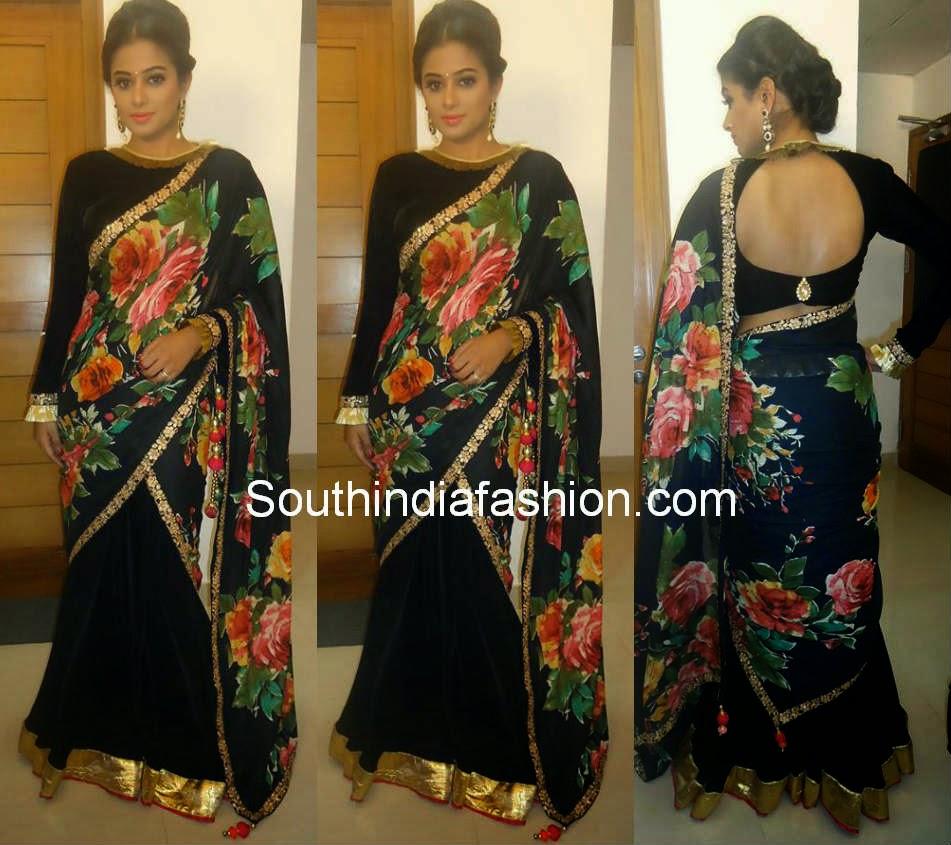 priyamani half saree