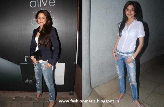 Amrita Arora In Jeans
