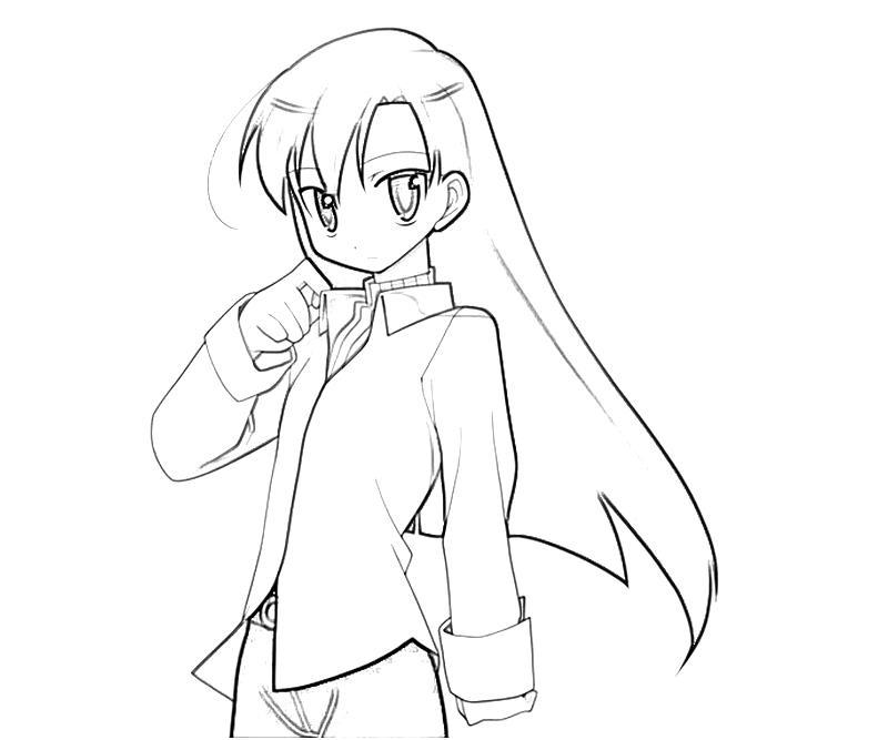 printable-idolmaster-chihaya-kisaragi-nice_coloring-pages