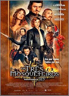 Filme Poster Os Três Mosqueteiros TS XviD & RMVB Dublado