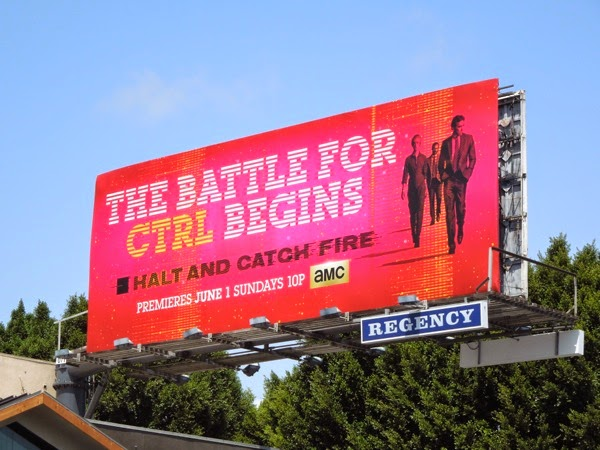 Halt and Catch Fire series premiere billboard