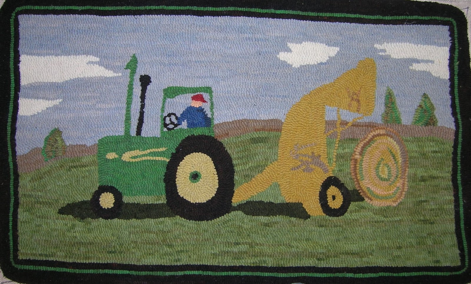john deere area rug home design