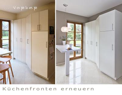 Küchenfronten erneuern -  Ihre Küche sieht dadurch wieder aus wie neu.
