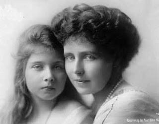 Reine Marie de Roumanie et sa fille la princesse Maria de Roumanie