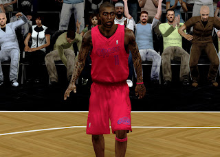 Download NBA 2K13 L.A. Clippers Christmas Jersey Patch