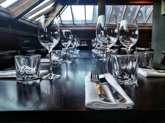 Private loft dining area at Smiths Spitalfields
