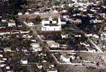 A foto aérea mais antiga.