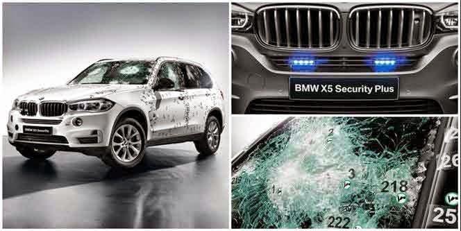 2015 BMW X5 F15 Security Plus